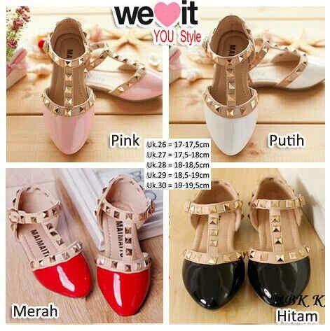 SHS11 flat leather girls @75rb Bebas pilih warna, minim 2pcs, size 26-30, ready 6mgg, Limited ¤ Order By : BB : 2951A21E CALL : 081234284739 SMS : 082245025275 WA : 089662165803 ¤ Check Collection ¤ FB : Vanice Cloething Twitter : @VaniceCloething Instagram : Vanice Cloe #shoes #onlineshopshoes #sepatucewek #sepatupita #pita #grosirbaju #grosirsepatu #grosirsepatuindonesia #cuteshoes #sepatuwanitagrosir