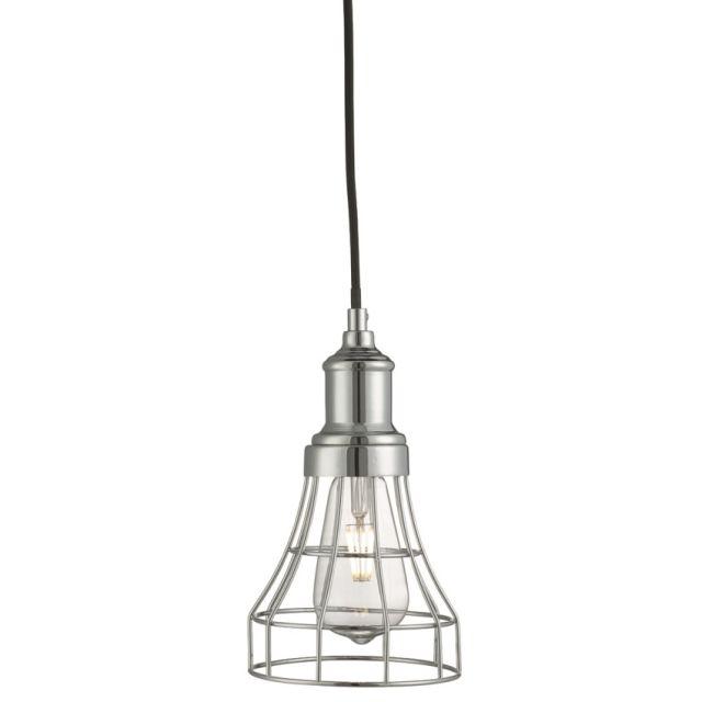 6836CC TAPERED CAGE - závesná lampa - chrómový kov