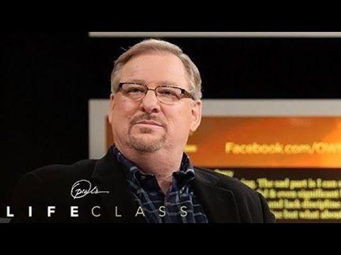 Pastor Rick Warren on the 5 Things That Shape You   Oprah's Life Class   Oprah Winfrey Network - YouTube