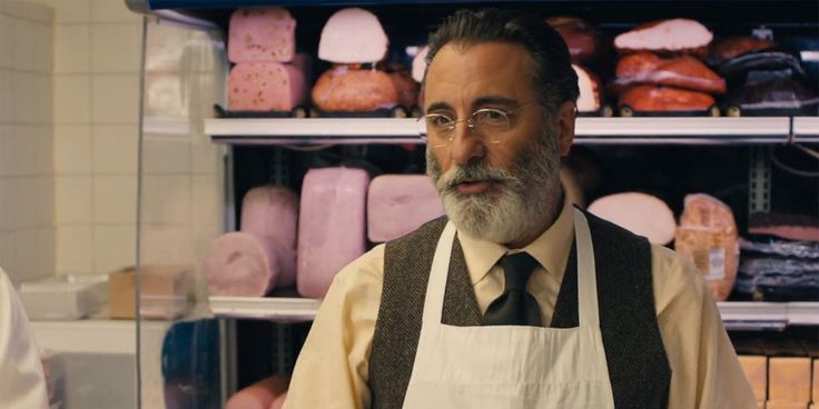 In Rob the Mob, Big Al (Andy Garcia) is a meat deli owner.