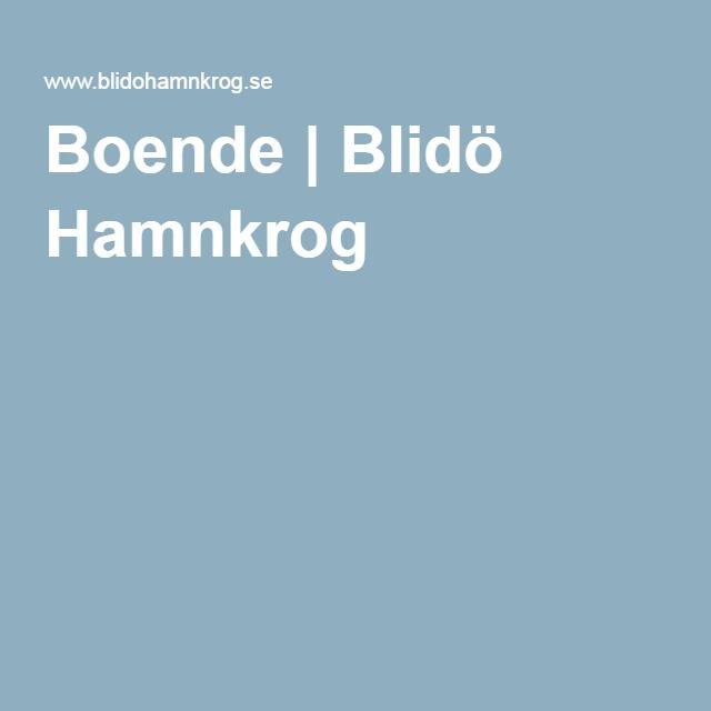 Boende | Blidö Hamnkrog