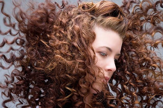 ...having naturally curly hair <3