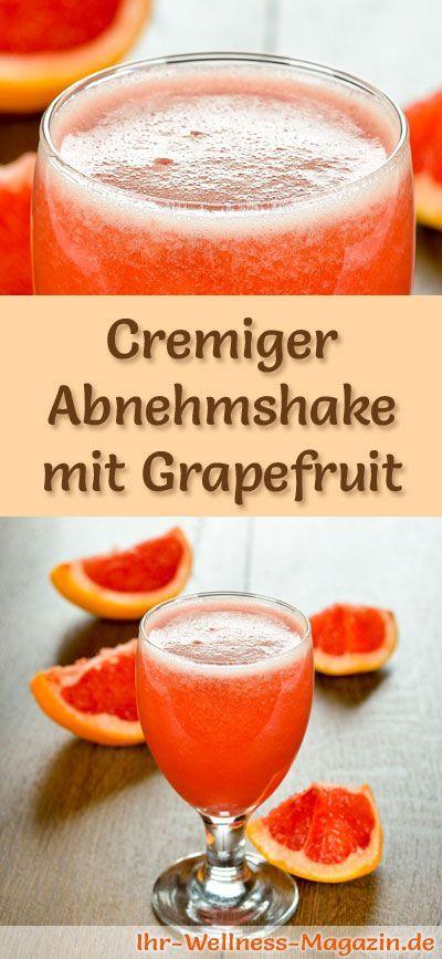Abnehmshake mit Grapefruit, mit oder ohne Eiweiß und weitere leckere Abnehmshakes, Eiweißshakes & Smoothies zum selber machen ...