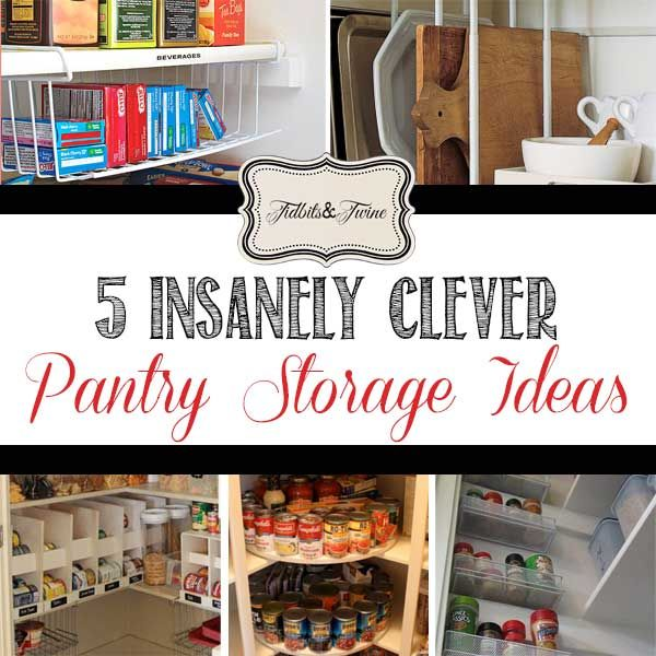 Clever Kitchen Storage Ideas: 298 Best Images About Decorating Tips From Tidbits&Twine