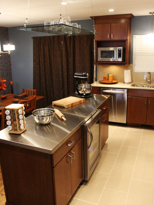 219 best diy reality stars images on pinterest stars carnivals center isle in the kitchen stainless steel w to install a stainless steel kitchen countertop how to diy network solutioingenieria Image collections