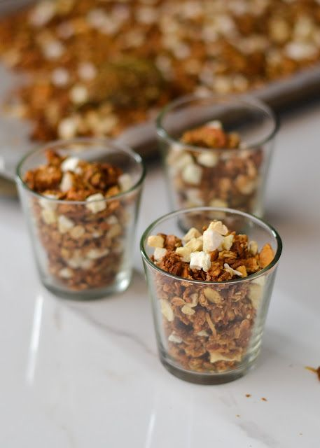Restricted to... /-/ Tropical Kitchen sink Granola   The moonblush Baker