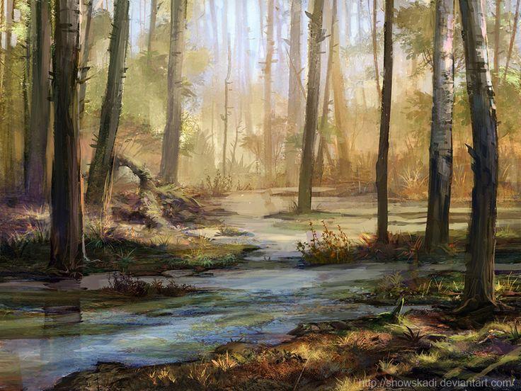 Forest 5 by SnowSkadi.deviantart.com on @deviantART