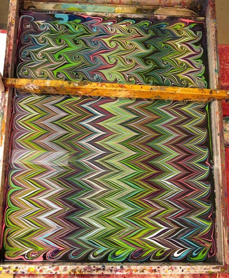 Welcome to KIARA Trading Co.: Paper Marbling Art 'Ebru'