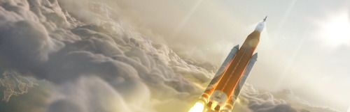 Artist Concept: Space Launch System Takes Flight : Artist...
