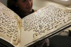 Eeuwenoud koranfragment in Britse bibliotheek