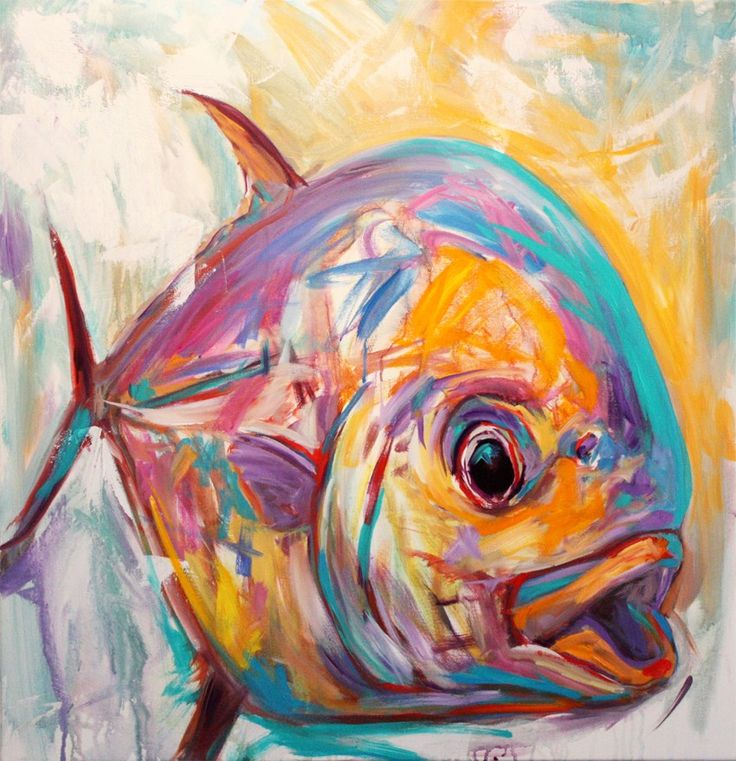 best 25 fish paintings ideas on pinterest fish art