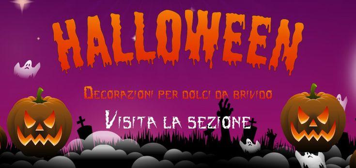 Halloween è alle porte! Visita la nostra sezione con decorazioni per DOLCI da BRIVIDI http://decorazioniperdolci.it/festivita/speciale-halloween.htmll #halloween