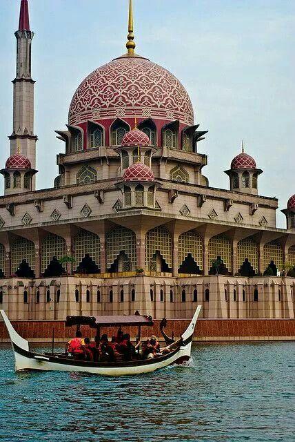 Putrajaya Mosque, Malaysia. MashaAllah