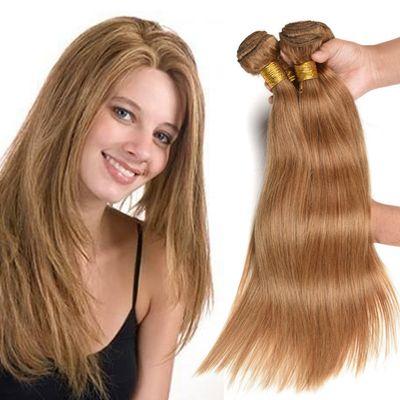 wholesale hair bundle Color 27 brazilian human hair weave