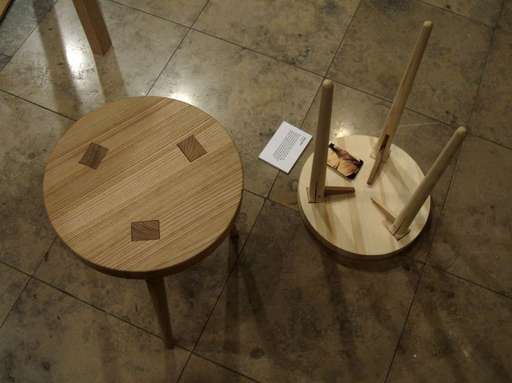 A Stool That Mixes The Traditional Scandinavian Furniture And History Of  Joineryu2026