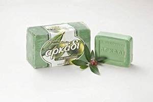 Arkadi – Greek Traditional Green Olive Oil Soap ( 4 Pcs X 150g ) Review