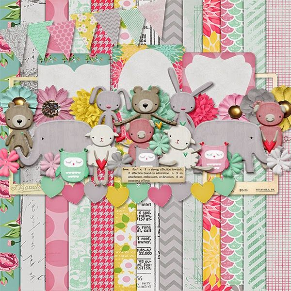 Scrapbooking TammyTags -- TT - Designer - Harper Finch, TT - Item - Kit or Collection