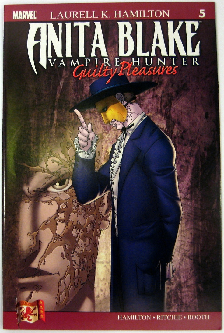 Anita Blake: Vampire Hunter  Guilty Pleasures #5 Marvelics (2007)