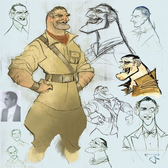Character Design Jobs Disney : Tarzan clayton character design disney