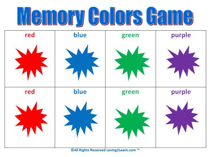 kids matching games colors memory game game memory pinterest matching games color games and activities