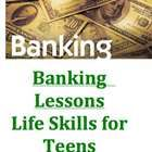 $3.00 These lessons were designed to develop banking skills for teens or life skill students.  Since this is a Word Document, the lessons can be modified...