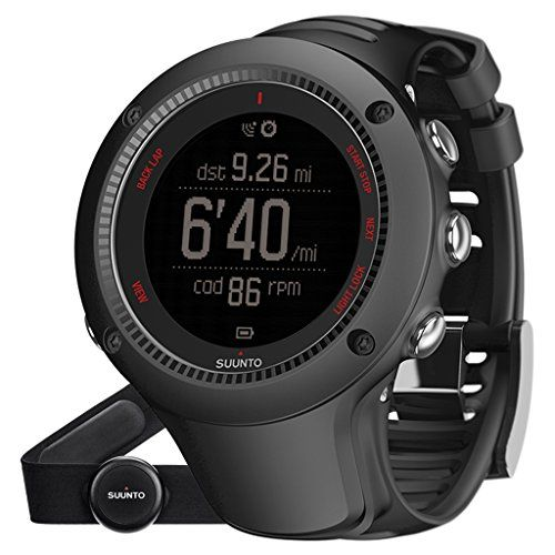 Suunto Ambit3 Run HR Brustgurt Black GPS-Uhr