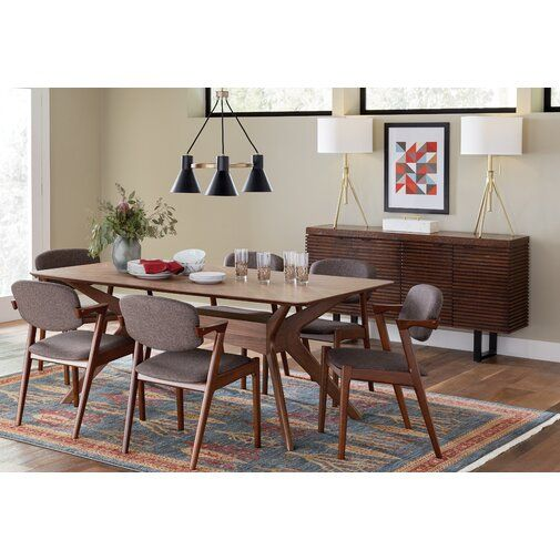 Idora Solid Wood Dining Table Dining Room Design Dining Table