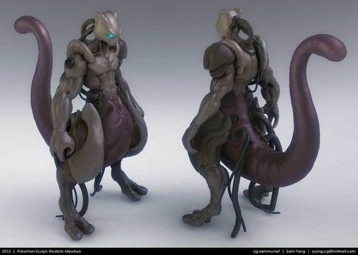 Realistic 3D Pokemon Sculpts - PokEdit News