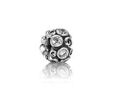 PandoraClear Primrose, Charms White, Pandora Jewelry, Pandora Bracelets, Pandora Charms, White Primrose, Primro Paths, Swirls Charms, Primrose Paths