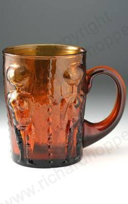 Vintage Amber Glass. Erich Hoglund for Kosta Boda, c.1970s. To visit my website click here: http://www.richardhoppe.co.uk or for help or information email us here: info@richardhoppe.co.uk