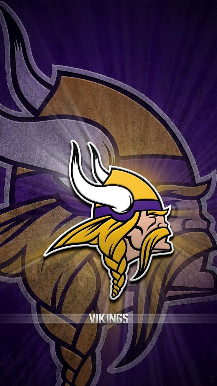 Minnesota Vikings Wallpaper 4k Iphone Trick Minnesota Vikings Wallpaper Viking Wallpaper Minnesota Vikings Logo