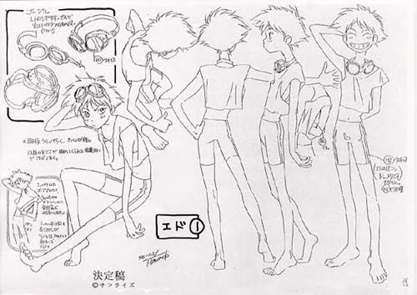 Model Sheet for Ed from Cowboy Bebop! ✤ || CHARACTER DESIGN REFERENCES | Find more at https://www.facebook.com/CharacterDesignReferences if you're looking for: #line #art #character #design #model #sheet #illustration #expressions #best #concept #animation #drawing #archive #library #reference #anatomy #traditional #draw #development #artist #pose #settei #gestures #how #to #tutorial #conceptart #modelsheet #cartoon #teen #teenager || ✤