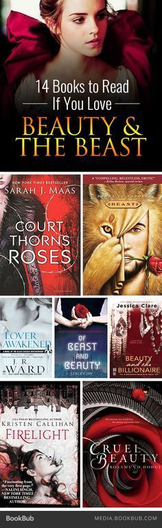Must Have!!! If you love Beauty and the Beast, check out these 14 retellings and themed novels.
