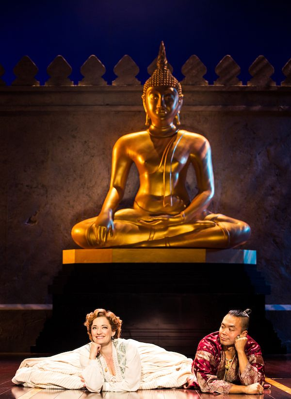 Laura Michelle Kelly and Jose Llana in Rodgers & Hammerstein's The King and I. Photo by Matthew Murphy.