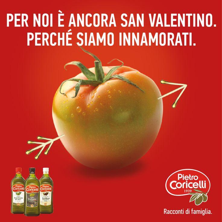 Per noi è ancora San Valentino. perché siamoinnamorati #innamoratidellolio #pietrocoricelli #SanValentino #love #food #oliveoil #olioevo