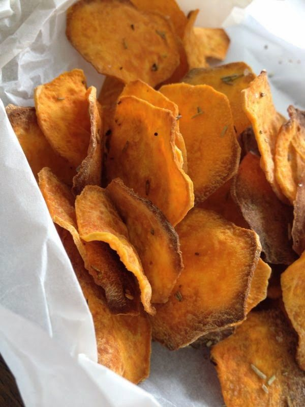 Receptenblog: Gezonde Chips