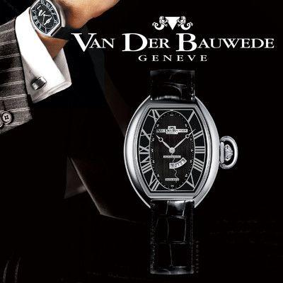 Four Seasons 12820 luxury men's Swiss watch by Van der Bauwede - Monte Cristo