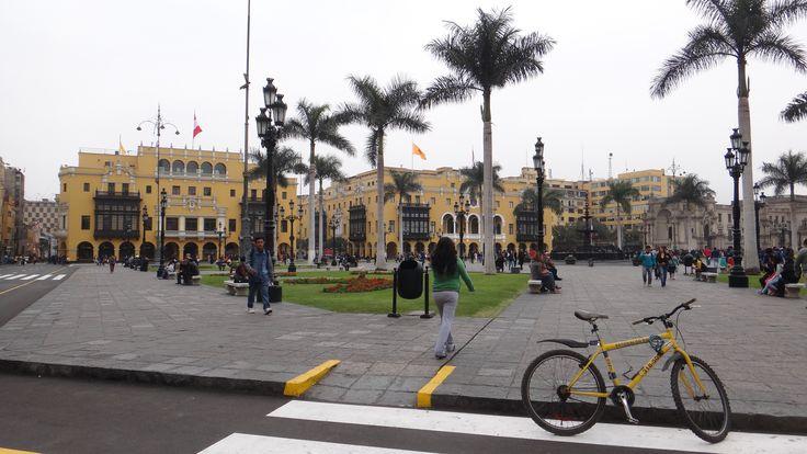 Plaza Mayor Palacio Municipal e Palacio de La Union