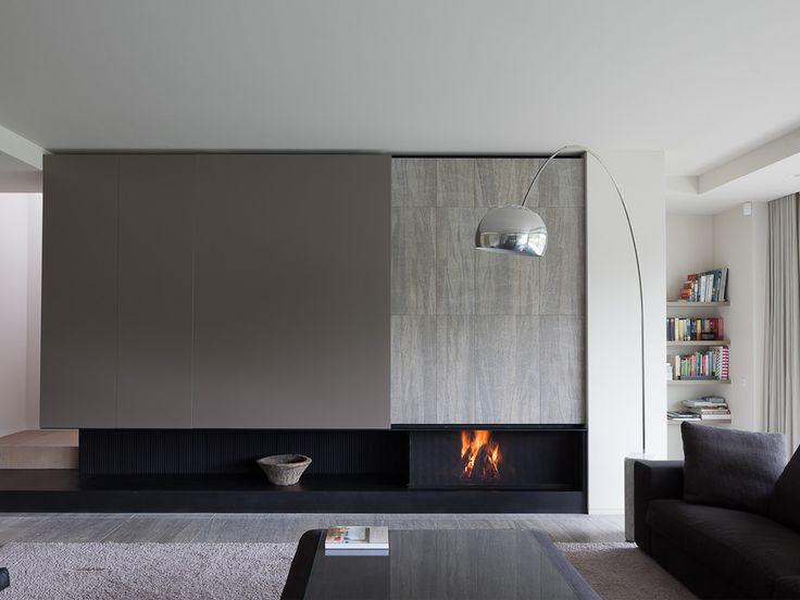 Las 25 mejores ideas sobre chimenea de tv en pinterest - Biochimenea de pared ...