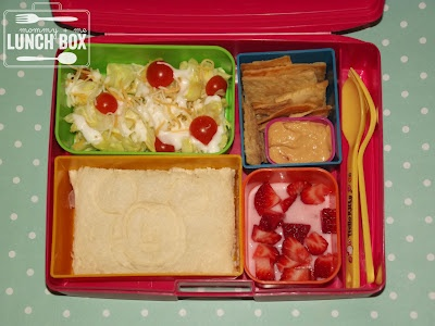 mommy + me lunch box: Mickey and the new Laptop Lunch