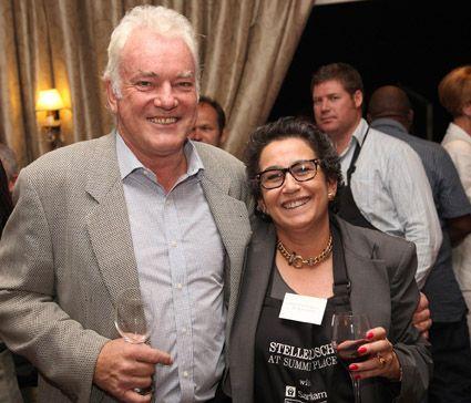Ken Forrester and Wendy Appelbaum at Stellenbosch Summer Place 2013