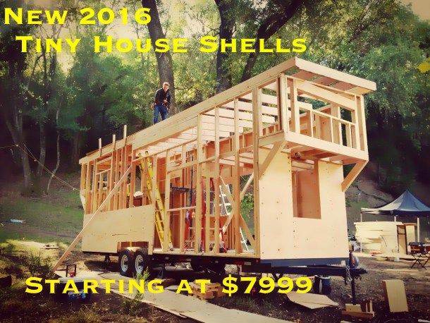 Tiny House Shells - PIC