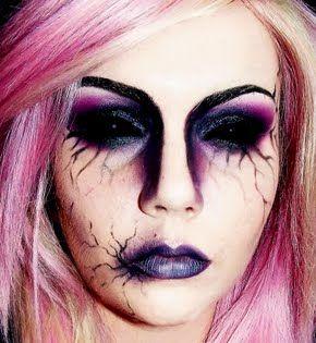 maquillaje halloween, halloween make up