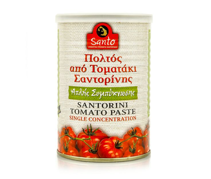 Simple condensation tomato paste from fresh Santorini cherry tomatoes. It encompasses all the characteristics of the fresh Santorini tomato! With bright red color, cool, light, with a strong aroma of the fruit of the tomato, sweet flavor and velvety texture! It is a perfect fit for most simple dishes ... as a sauce on fresh sandwiches, fried eggs, fried potatoes or on burgers but also in traditional or creative cuisine recipes.