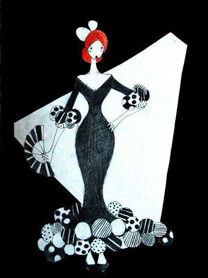 dibujos flamenco - Buscar con Google