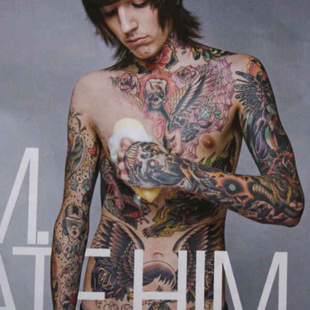 Oliver Sykes has some awesome tattoos   Tattoos   Oliver ...