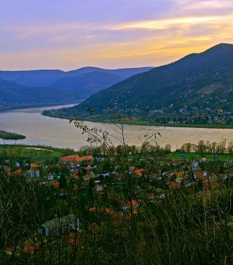 Dunakanyar A Duna Esztergom és Budapest közötti szakasza nemcsak olyan nevezetes helyeknek ad otthont, mint a Visegrádi Vár, de természeti látnivalóban is gazdag, valamint az ország talán leggyönyörűbb panorámáját nyújtja.