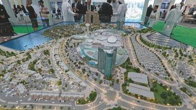 Visitors_ scout_ latest_ developments_ at_ Cityscape_ Abu_Dhabi_