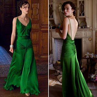 Keira Knightley - Atonement  If I had to pick my favorite dress EVER, this would be it. The best dress, in the history of dresses.