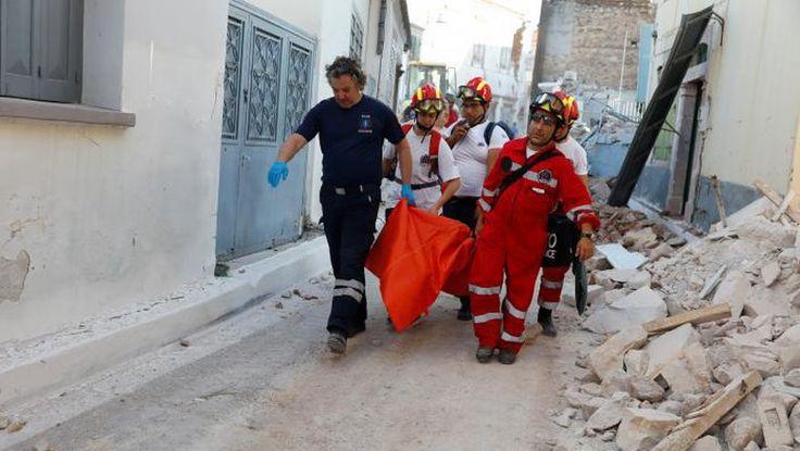 Gempa Yunani-Turki, 1 Wanita Tewas Tertimbun Reruntuhan Rumah